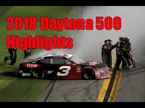 Daytona 500 NASCAR 2018 Highlights