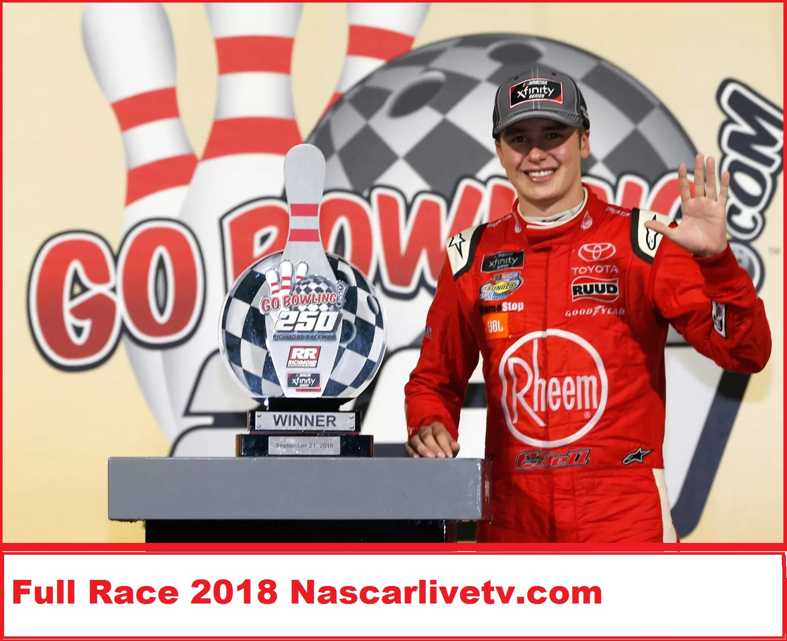 nascar-xfinity-series-gobowling-250-complete-race