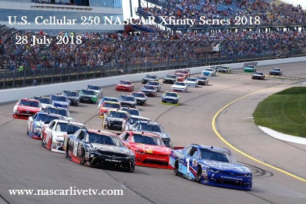 2018 NASCAR Xfinity Iowa Race Live Stream