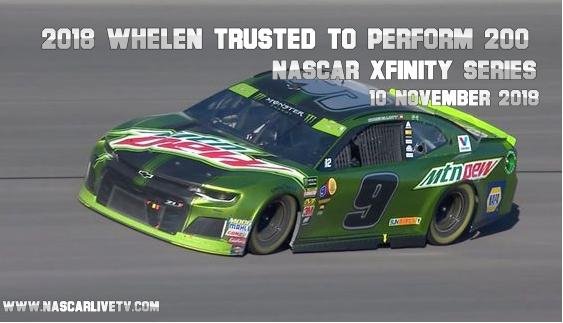 2018 NASCAR Xfinity Series Phoenix Live