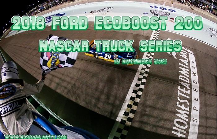 2018 Ford EcoBoost 200 NASCAR Truck Live