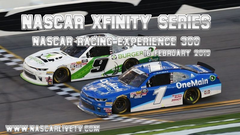 2019 NASCAR Racing Experience 300 Xfinity at Daytona