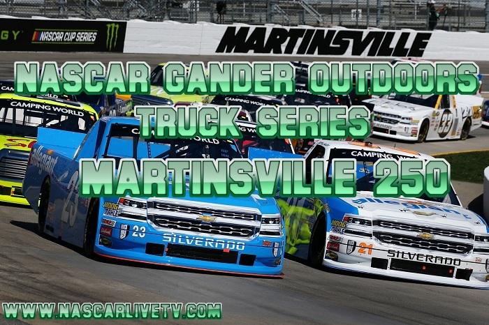 NASCAR Truck Series Martinsville 250 Live Stream