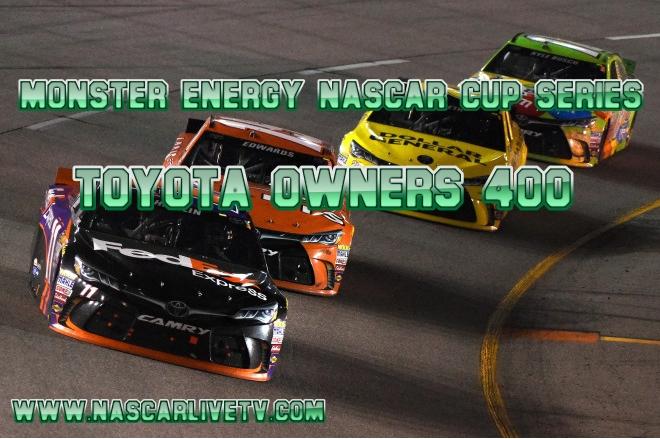 NASCAR Toyota Owners 400 Richmond Raceway Live