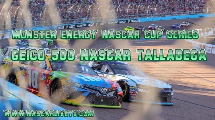 GEICO 500 NASCAR Talladega Live Stream