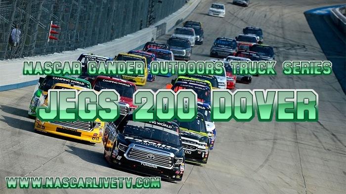 NASCAR Truck Series JEGS 200 Dover Live Stream
