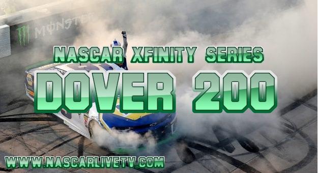 NASCAR Xfinity Series Dover 200 Live Stream