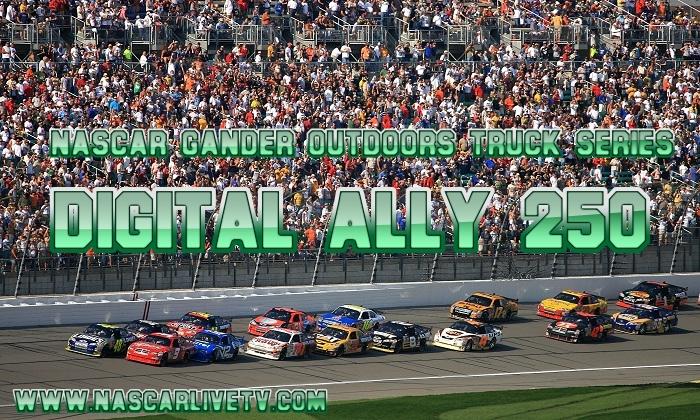 Digital Ally 250 Kansas NASCAR Truck Live Stream