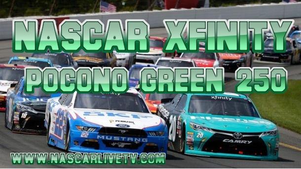 Pocono Green 250 NASCAR Xfinity Live Stream
