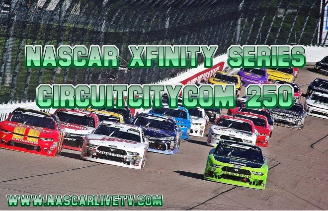 CircuitCitycom 250 NASCAR Xfinity Live Stream