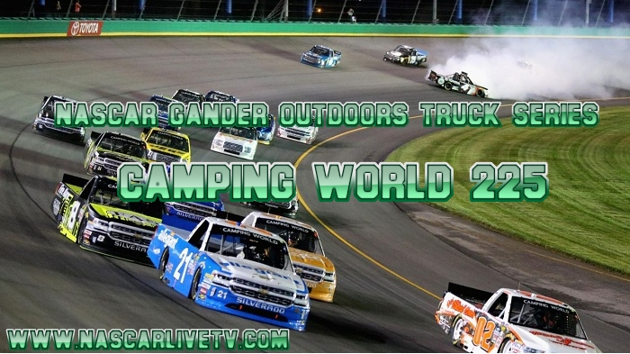 Camping World 225 NASCAR Truck Live Stream