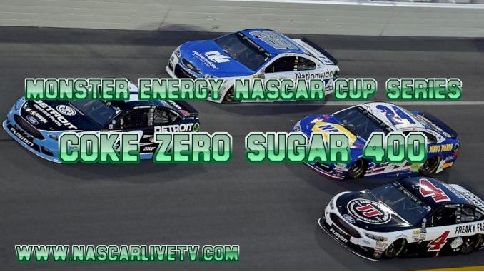 Coke Zero Sugar 400 NASCAR Live Stream 2019 | Daytona