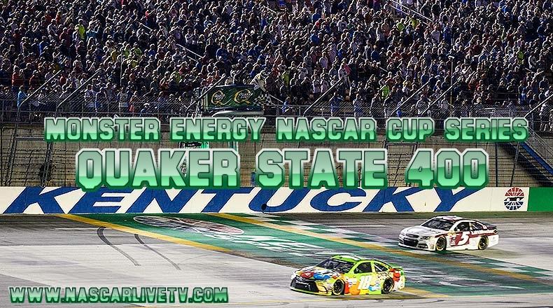 Quaker State 400 NASCAR Kentucky Live Stream