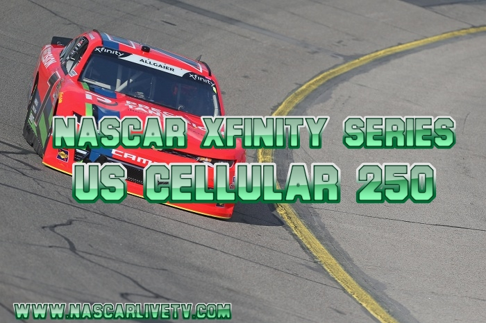 US Cellular 250 NASCAR Xfinity Live Stream