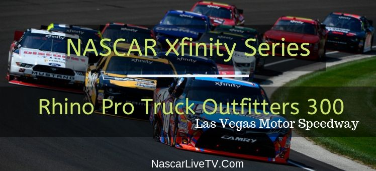 NASCAR Xfinity Rhino Pro Truck Outfitters 300 Live