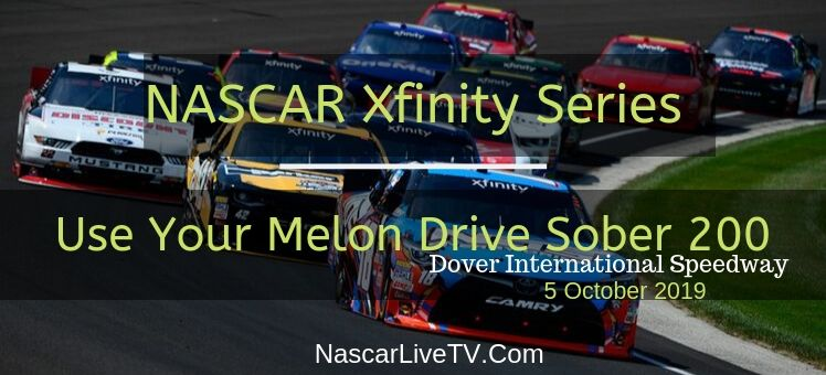 Use Your Melon Drive Sober 200 NASCAR Xfinity Live Stream
