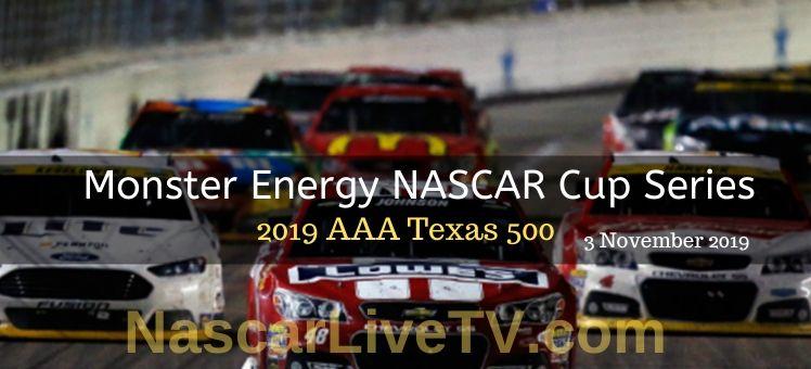 2018 AAA Texas 500 NASCAR Race Live