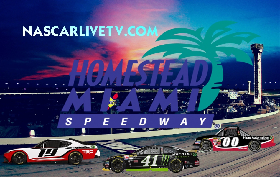 Homestead-Miami Speedway Live on Computers