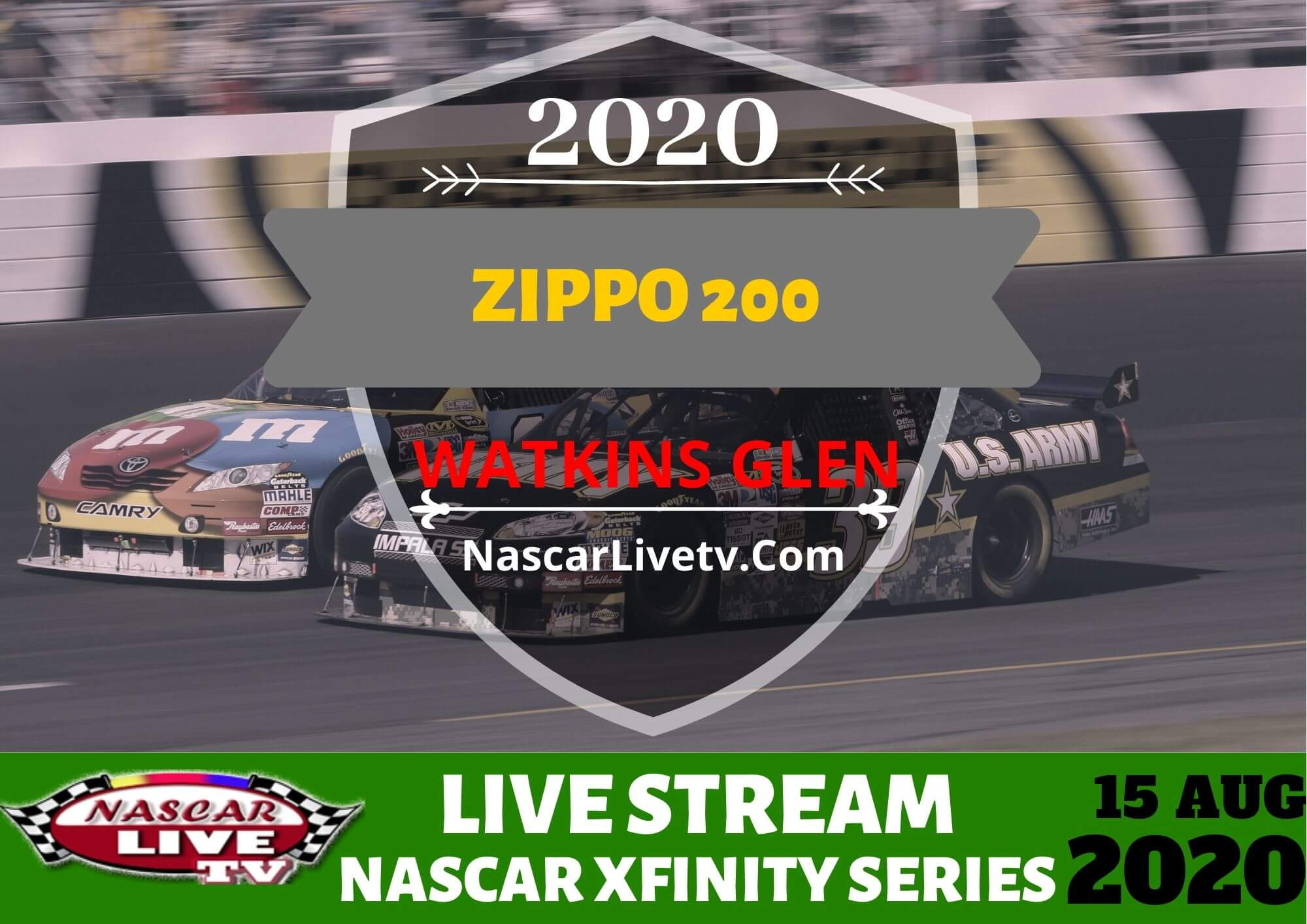 Watch Zippo 200 at The Glen Live
