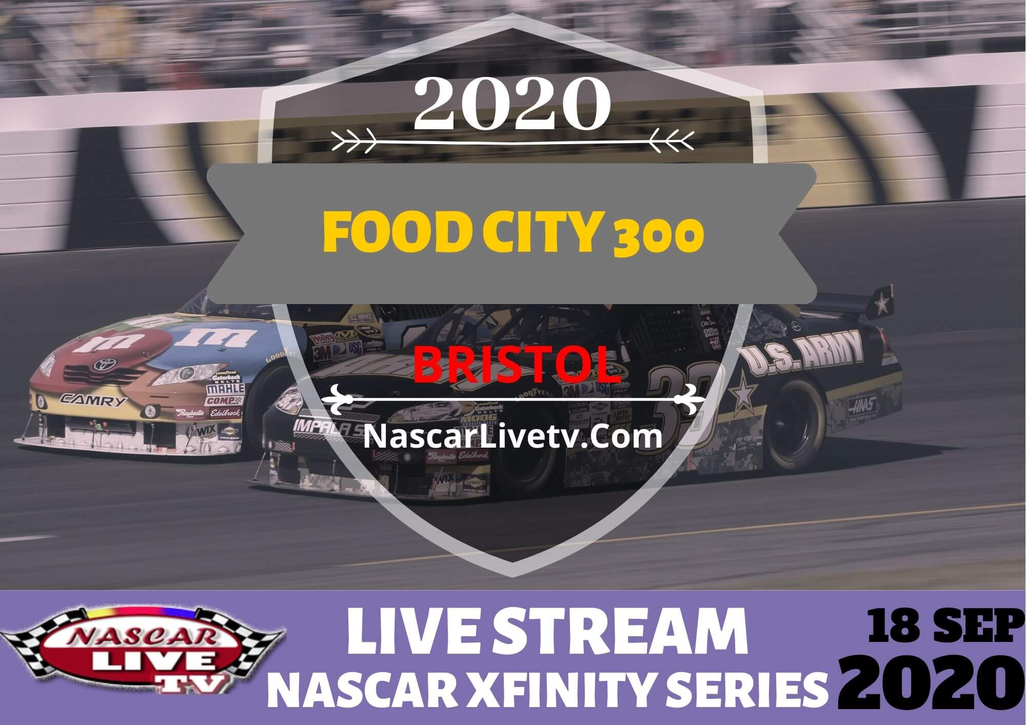 Watch Food City 300 Live