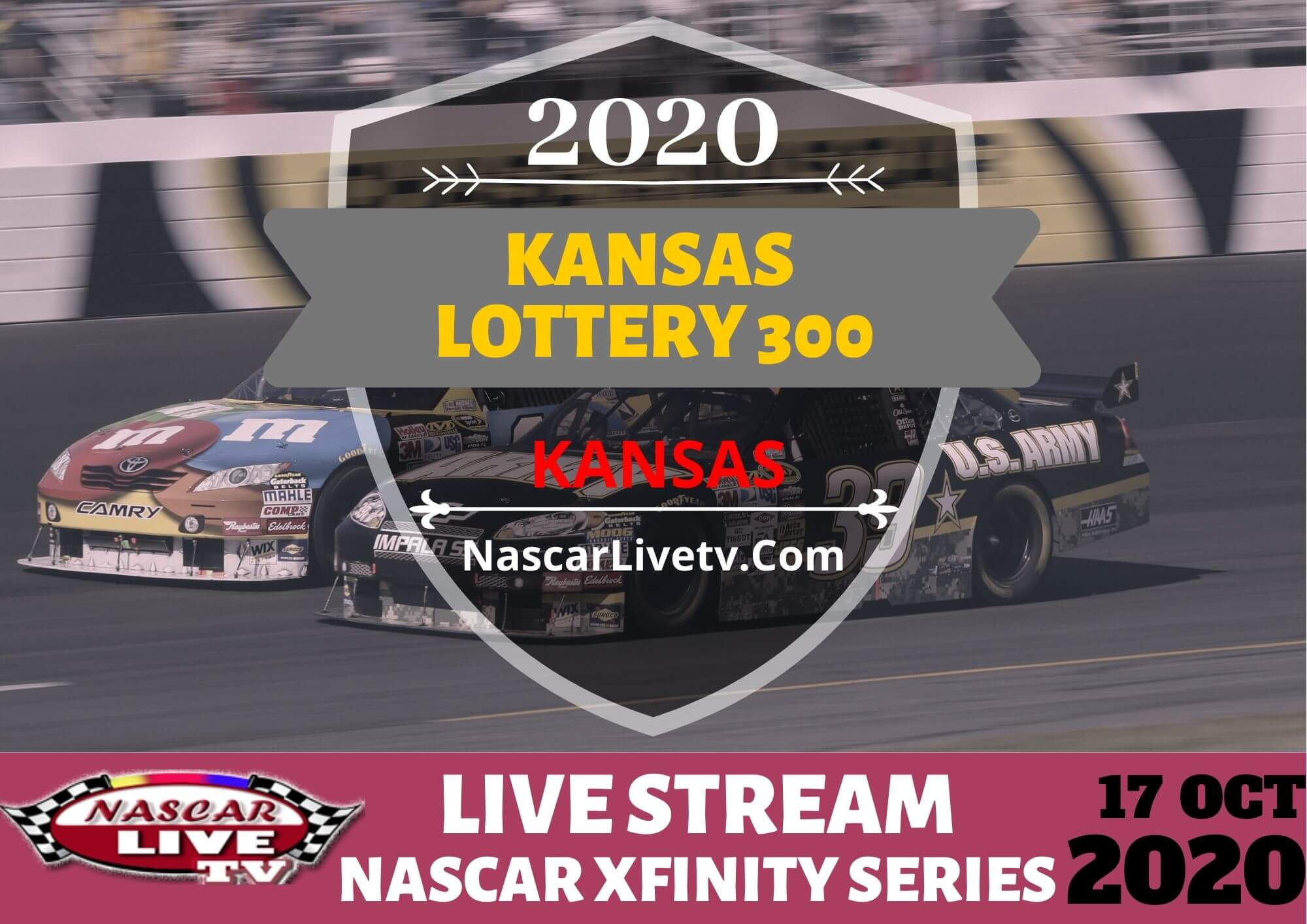 Watch Kansas Lottery 300 Live