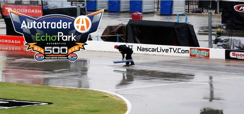 NASCAR Cup Series Texas Postponed to Tuesday due to rainy weather