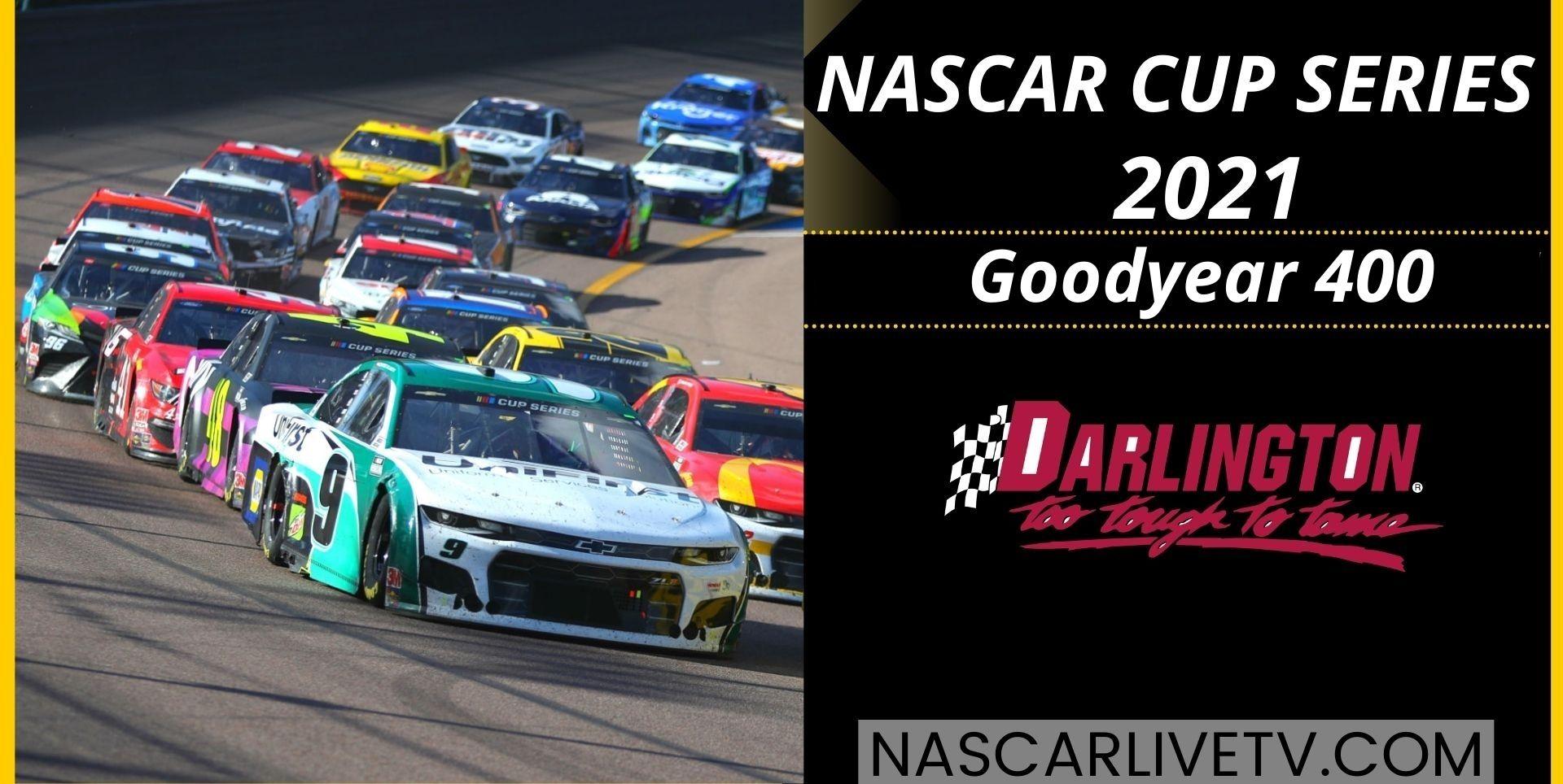 NASCAR Cup Series Goodyear 400 Darlington Live Stream