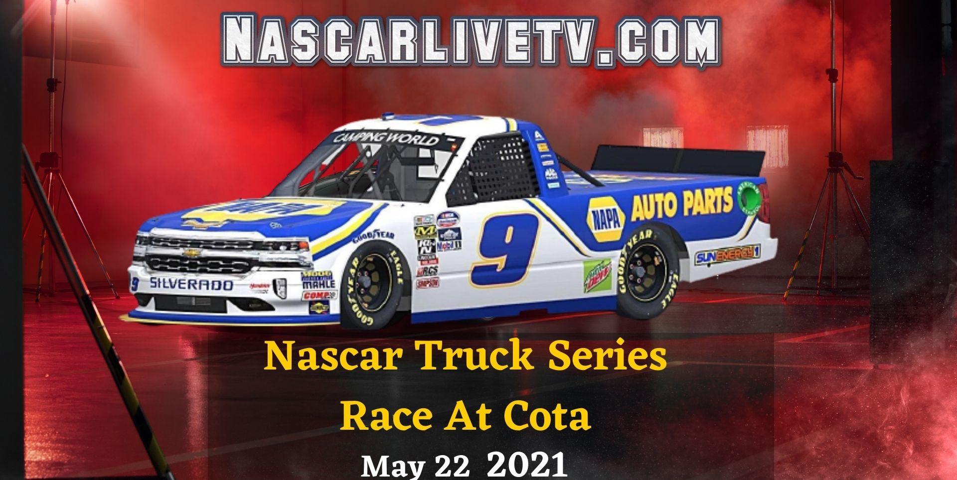 NASCAR Truck Series At Cota Live Stream