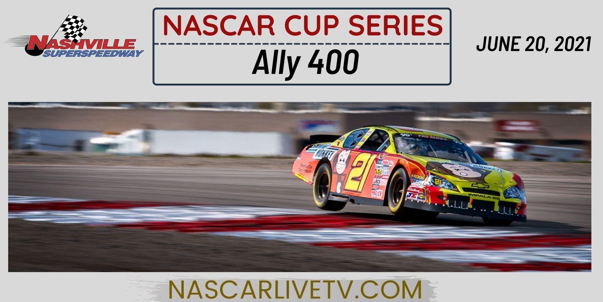 NASCAR Cup Series at Nashville Live Stream