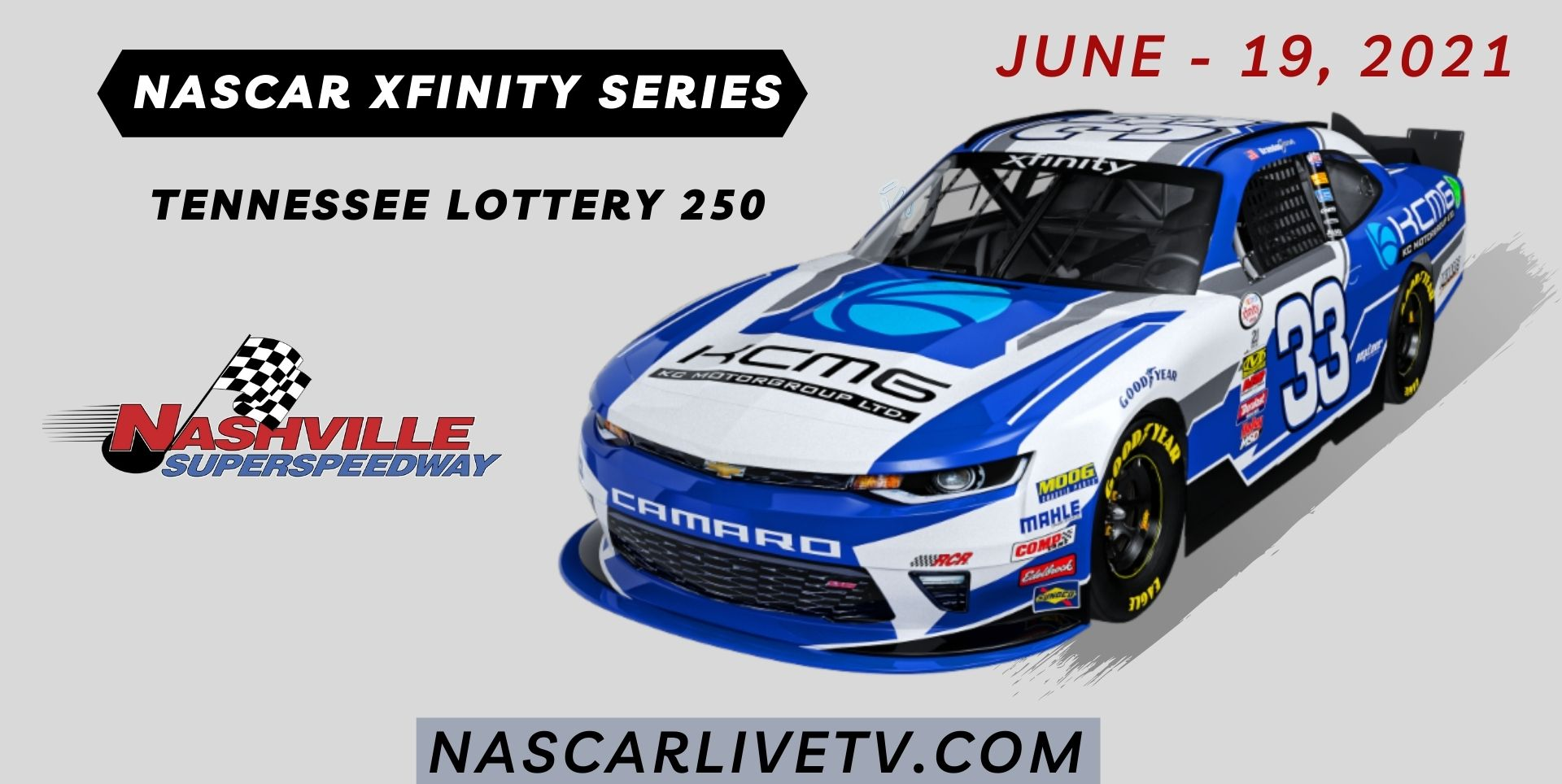 NASCAR Xfinity Series at Nashville Live Stream