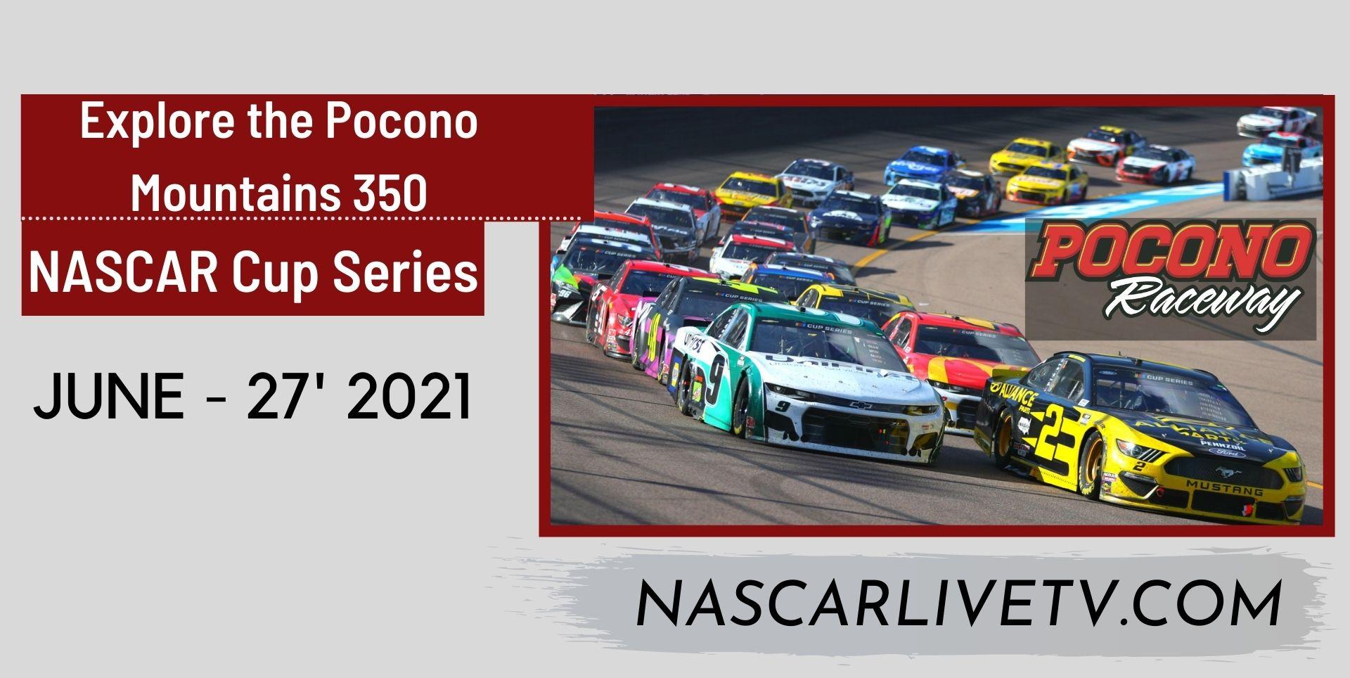 NASCAR Cup Series Pocono 350 Live Stream