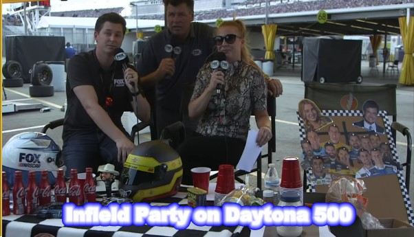 Fox Sports Set Infield Party of Daytona 500
