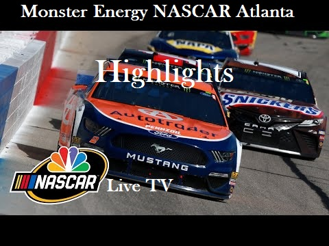 Monster Energy NASCAR Atlanta 2019 Highlights