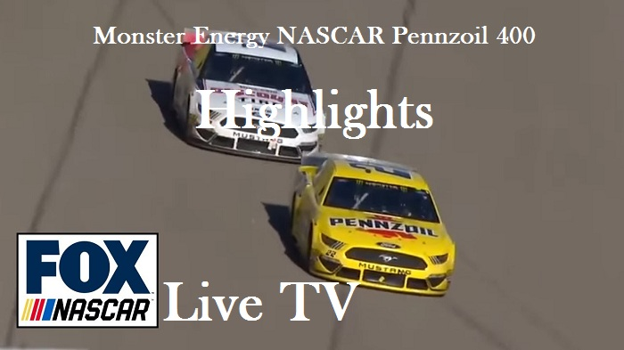 Monster Energy NASCAR Pennzoil 400 Highlights 2019