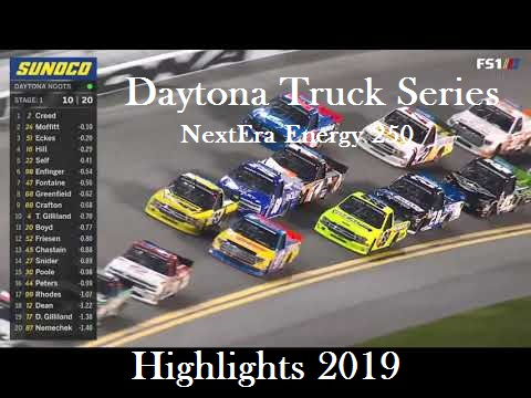 NASCAR Gander Outdoors Truck Highlights 2019
