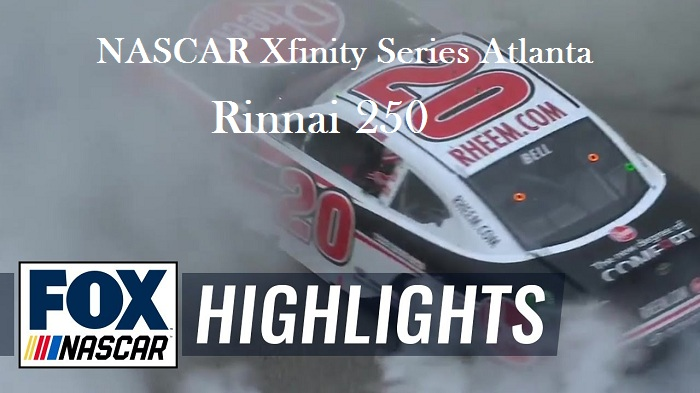 NASCAR Xfinity Series Atlanta Highlights 2019