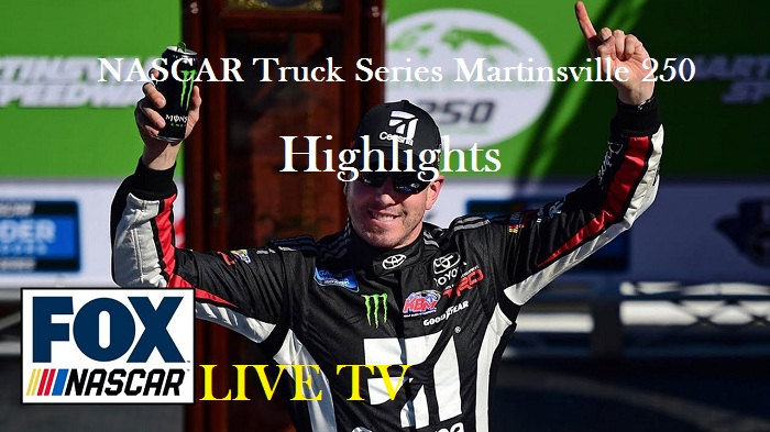 NASCAR Truck Series Martinsville Highlights 2019