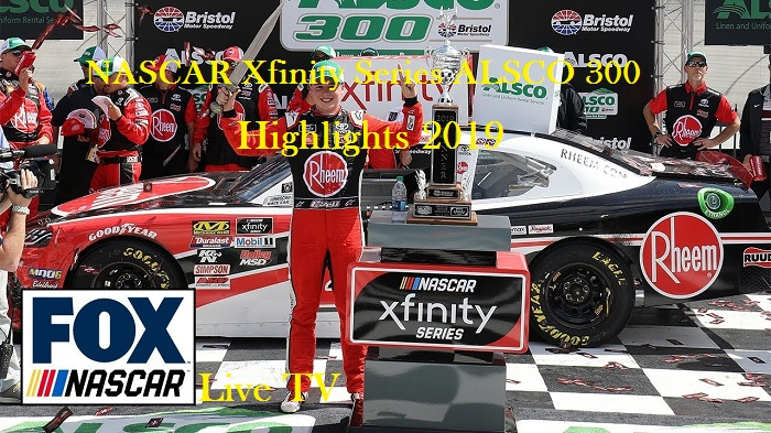 NASCAR Xfinity Series ALSCO 300 Highlights 2019