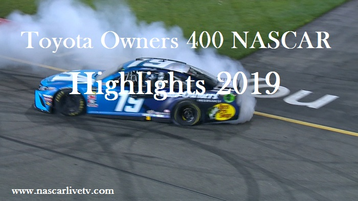 Toyota Owners 400 NASCAR Highlights 2019