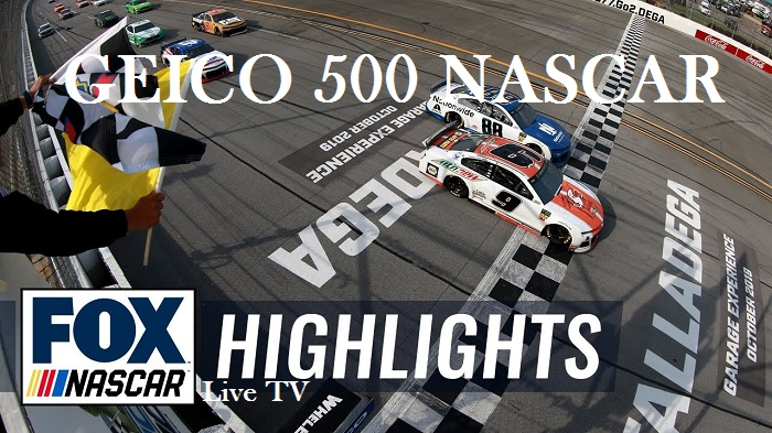 GEICO 500 NASCAR Highlights 2019