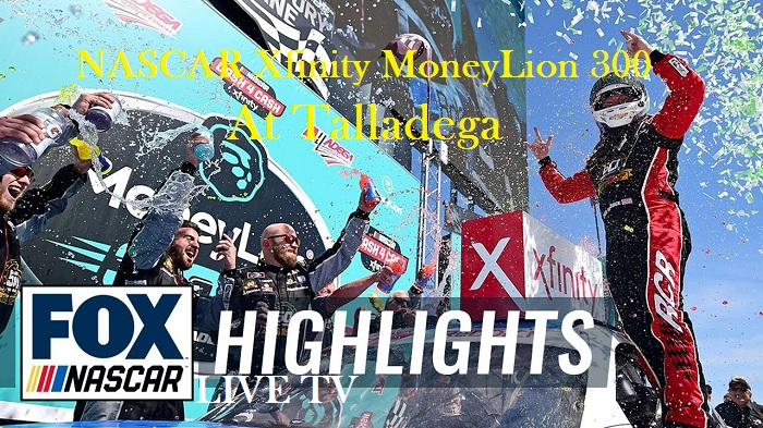 MoneyLion 300 Talladega Nascar Xfinity Highlights 2019