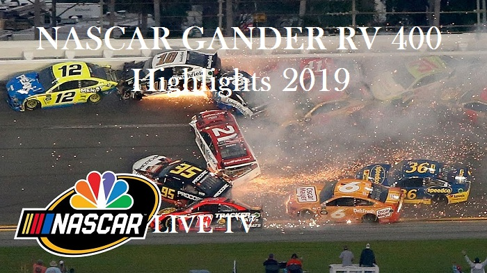 NASCAR GANDER RV 400 Highlights 2019