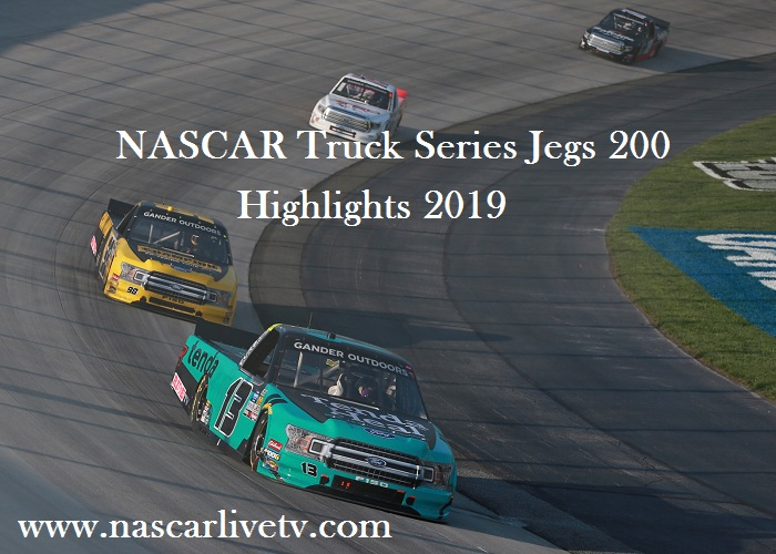 NASCAR Truck Series Jegs 200 Highlights 2019