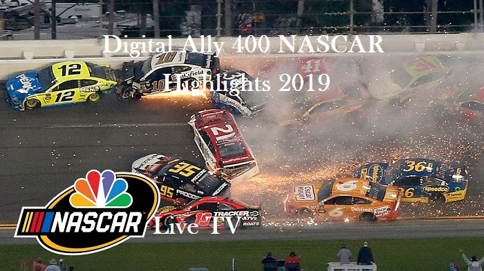 Digital Ally 400 NASCAR Kansas Highlights 2019