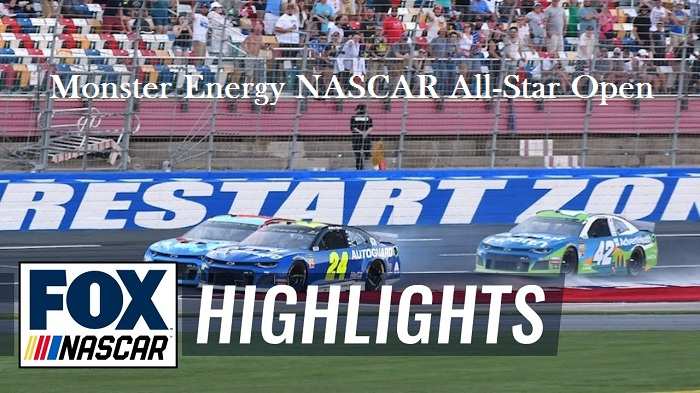 Monster Energy NASCAR All-Star Open Highlights 2019