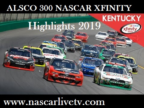 ALSCO 300 NASCAR XFINITY Highlights 2019