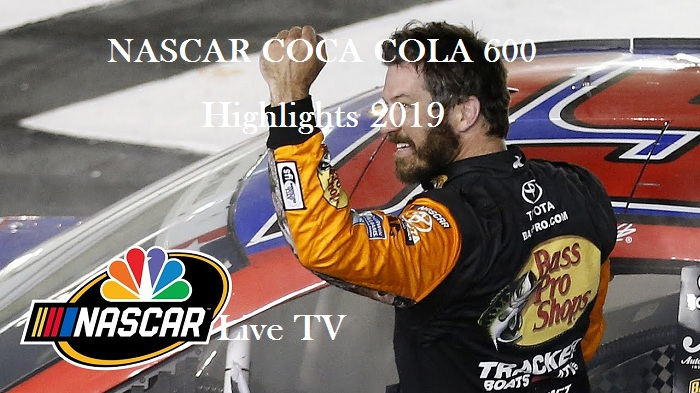NASCAR COCA COLA 600 Highlights 2019