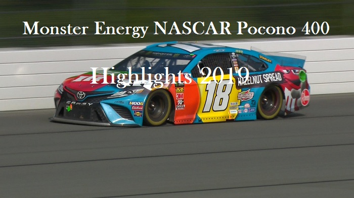 Monster Energy NASCAR Pocono 400 Highlights 2019