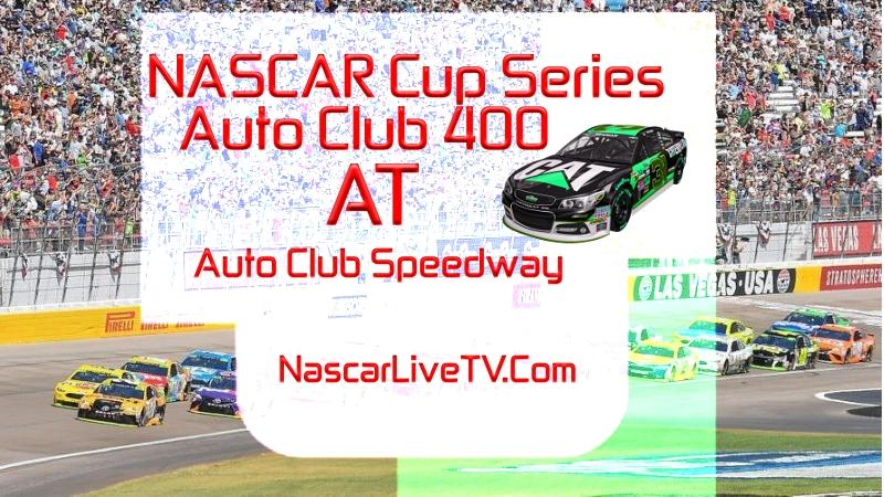 Auto Club 400 MENCS 2020 Live Stream