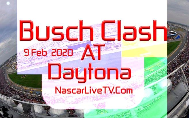 NASCAR Busch Clash Daytona Qualifying 2020 Live Stream